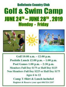 Golf Swim Camp