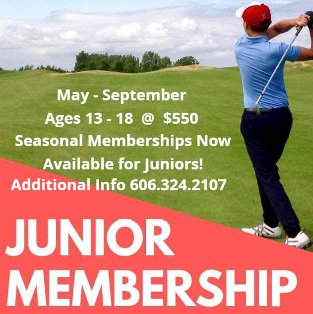Junior Golf Membership Promo