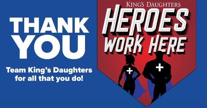 Thank You Team King's Daughters