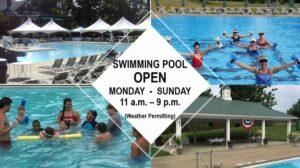 Swimming Pool Open
