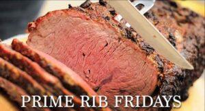 Prime Rib Fridays