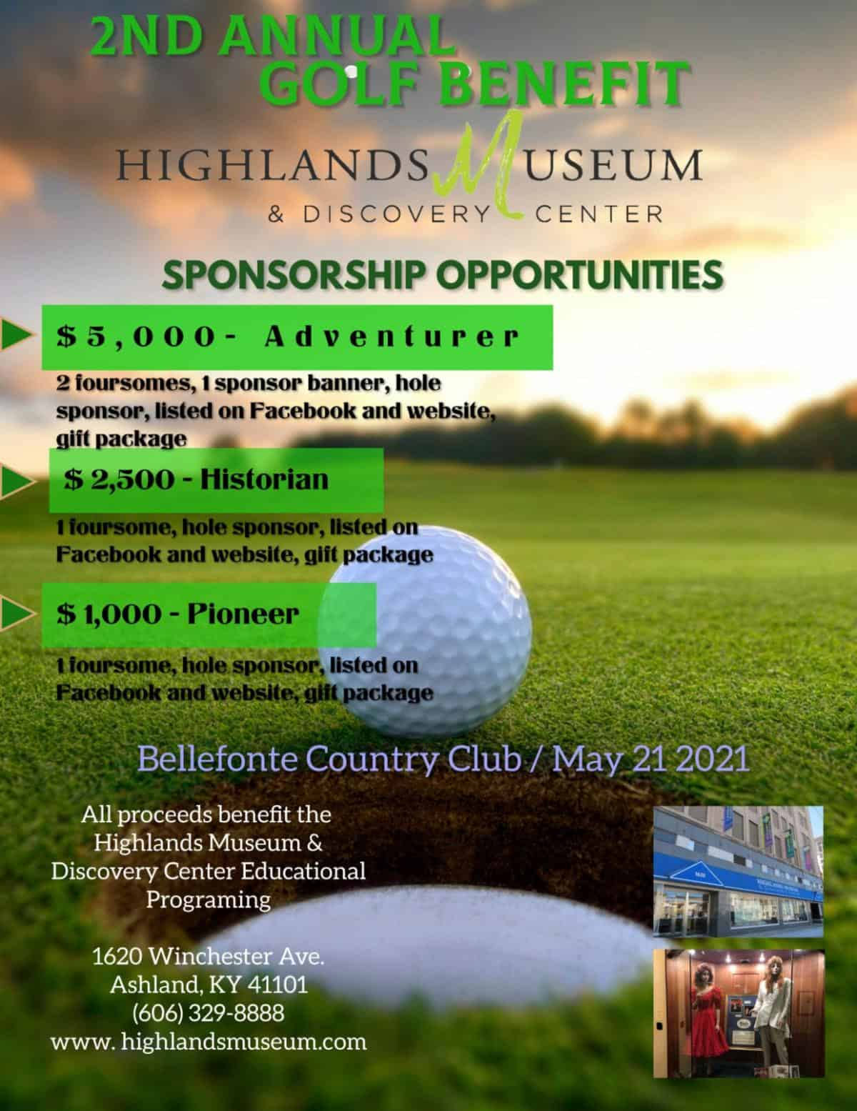 2nd Annual Golf Benefit