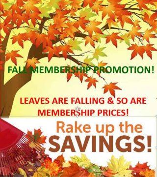 Fall 2020 Membership Promo