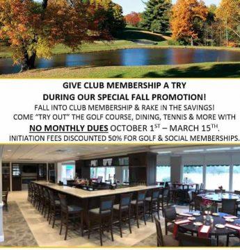 Membership Fall Promo