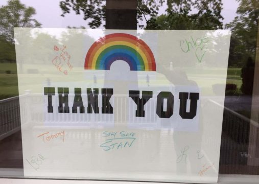 Thank You From Staff